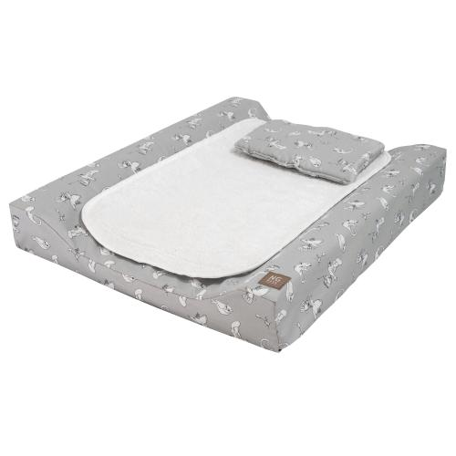 Changing pad de lux | Fairytale grey | Woods & Fairytales