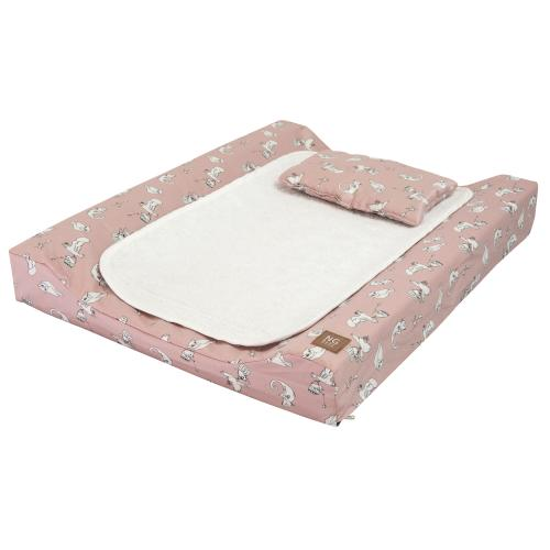 Changing pad de lux | Fairytale rose | Woods & Fairytales