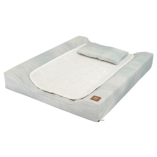 Changing pad de lux | Misty petrol | Woods & Fairytales