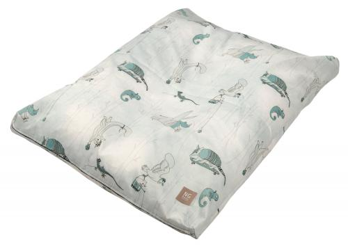 Changing pad ergonomic | Woods petrol | Woods & Fairytales