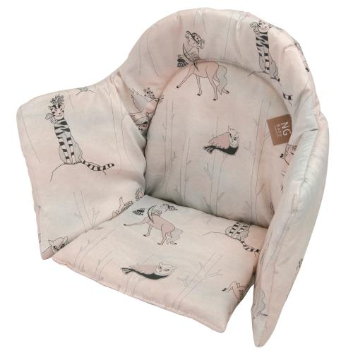 High chair booster | Woods rose | Woods & Fairytales