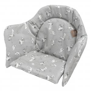 High chair booster | Fairytale grey | Woods & Fairytales