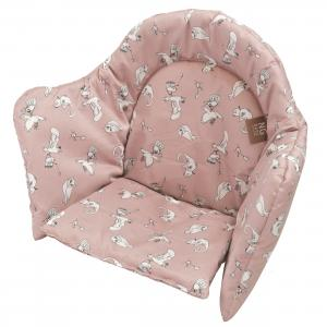 High chair booster | Fairytale rose | Woods & Fairytales