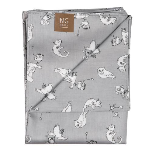 Flat sheet | Fairytale Grey | Woods & Fairytales