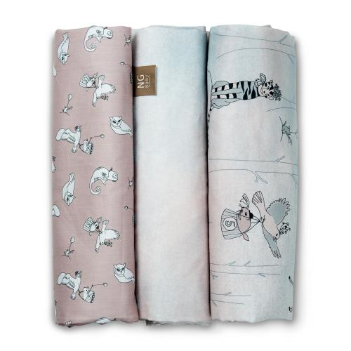 Flat sheet | Woods Rose | Woods & Fairytales
