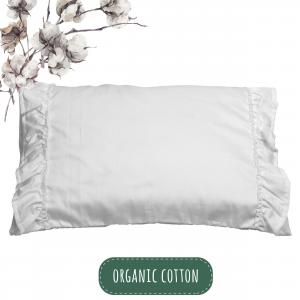 Pillow case ruffle | Organic Basic