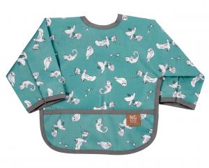 Bib with arms | Fairytale petrol | Woods & Fairytales