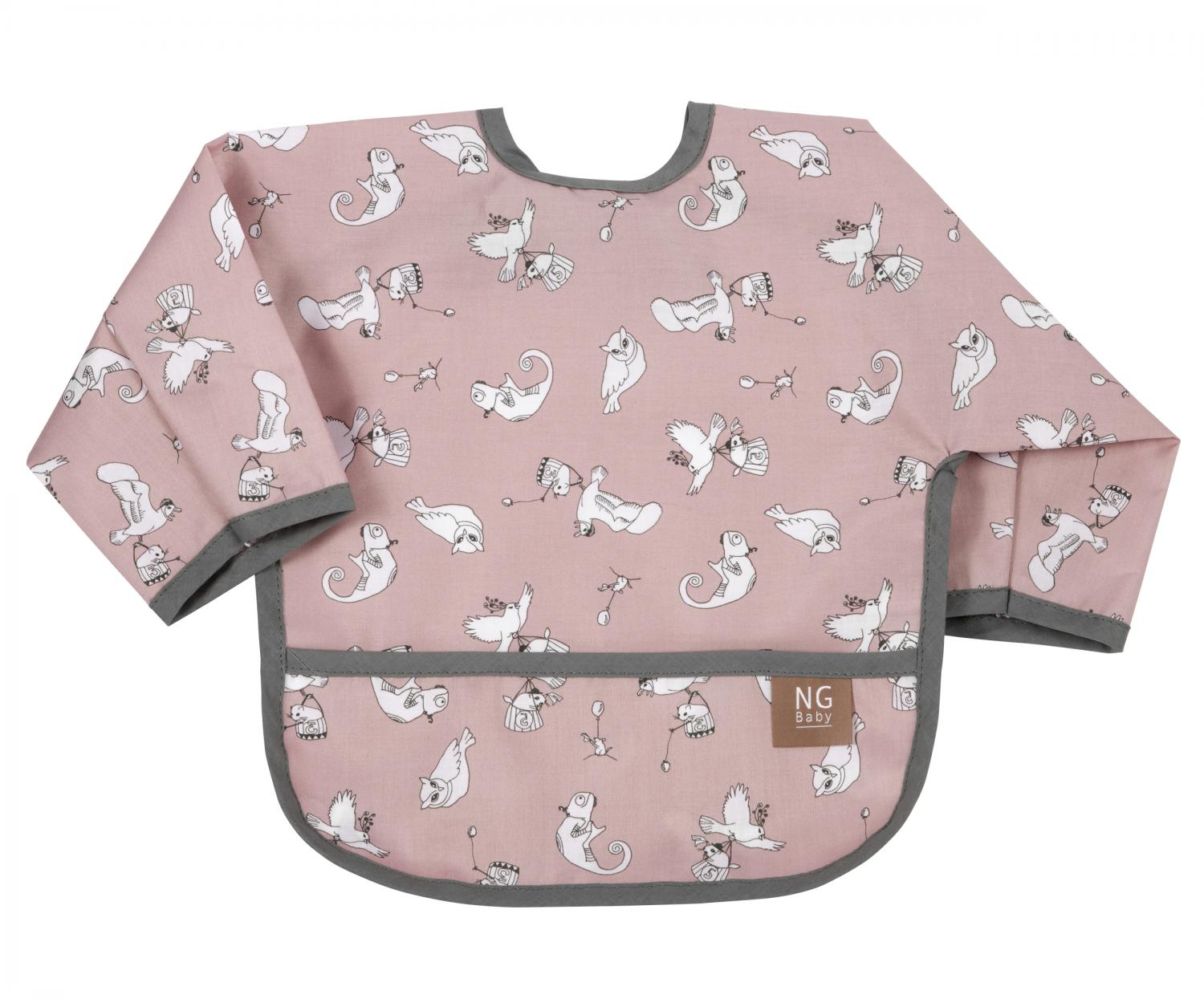 Bib with arms | Fairytale rose | Woods & Fairytales