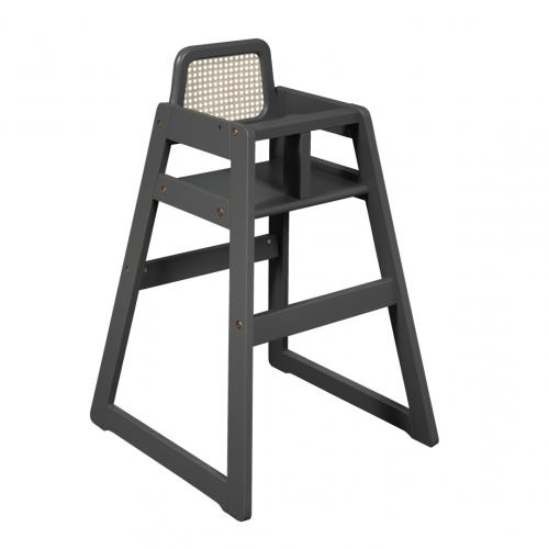 High chair Marita | Rattan Seay Grey | Troll