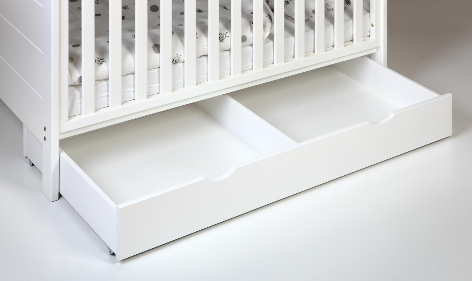 Bed drawer cot | White | Troll