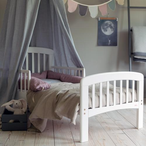 Junior bed Lux | White | Troll