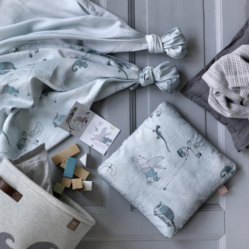 Flat sheet | Misty Petrol | Woods & Fairytales