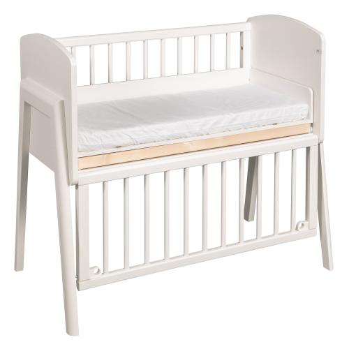 Bedside crib Come-to-me | White | Troll