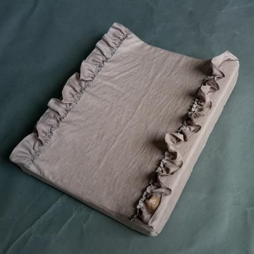Changing pad standard ruffle |  Earth | Mood ruffles