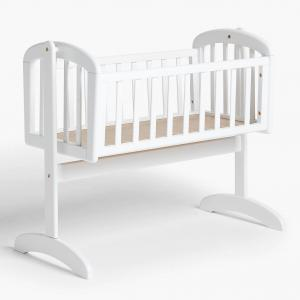 Swinging crib Lux | White | Troll