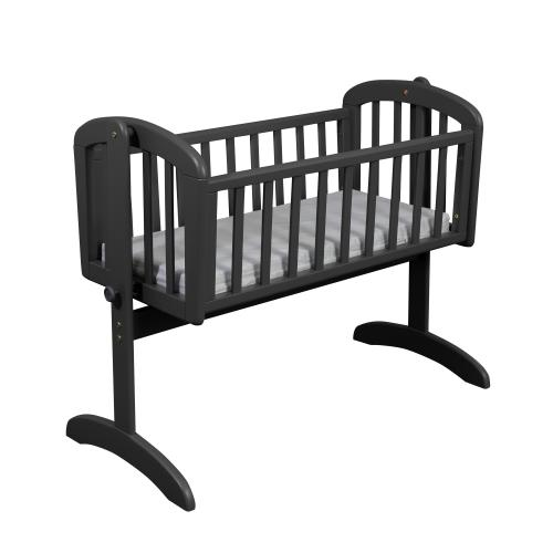 Swinging crib Lux | Seal Grey | Troll