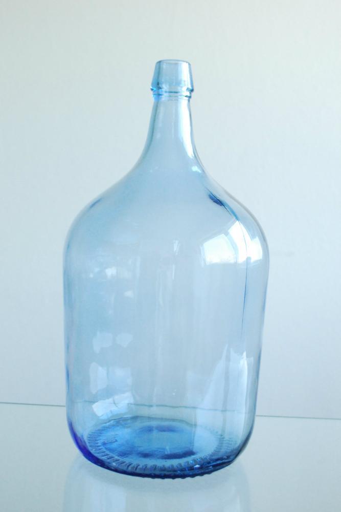 Stor glasflaska 5 liter