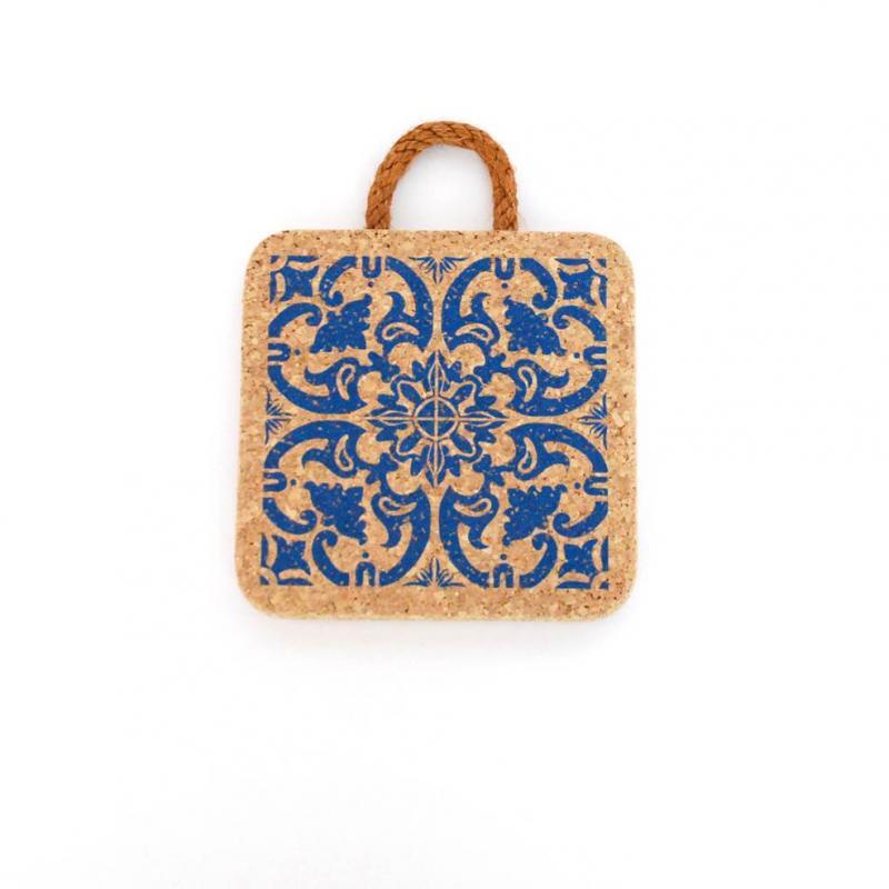 Korkunderlägg Azulejos