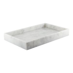 Marmorbricka rektangulär vit