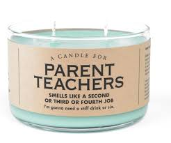 Parent teachers candle