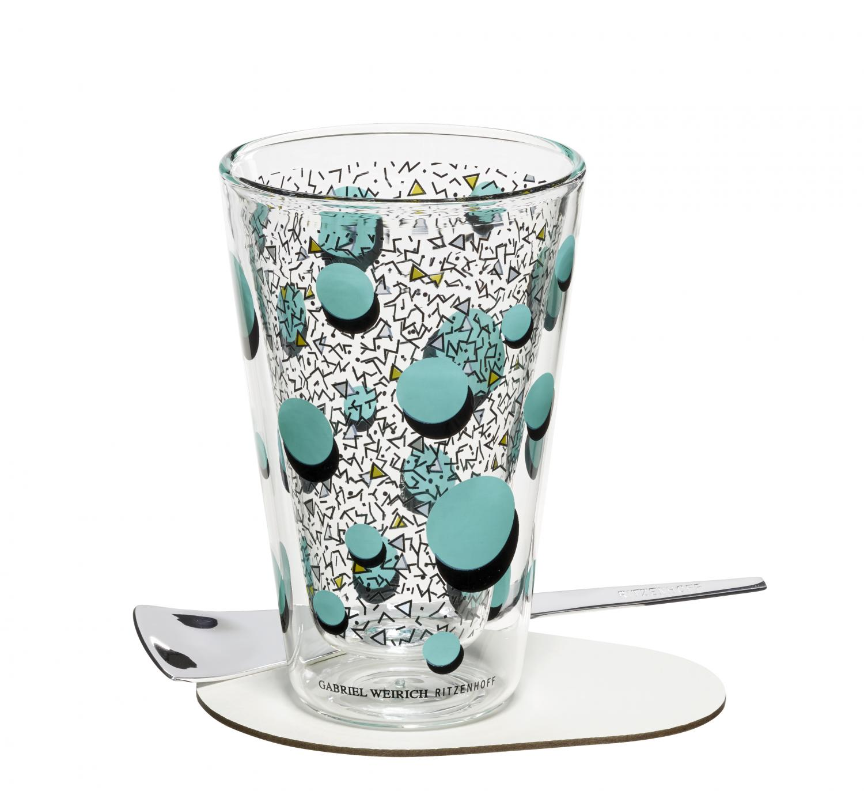 A Cuppa Day - Latte Macchiatoglas