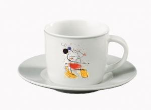 Abstrakt Mus Espressokopp