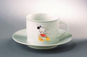 Abstrakt Mus Kaffekopp