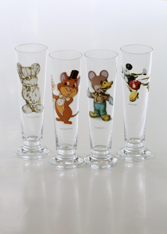 Ölglas Jubileum Set om 4 glas