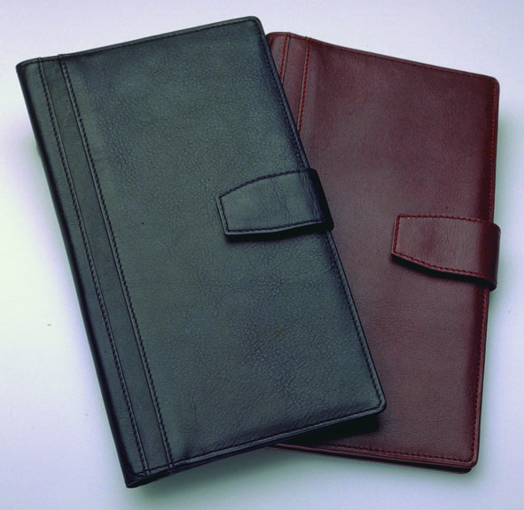 Reseplånbok - svart