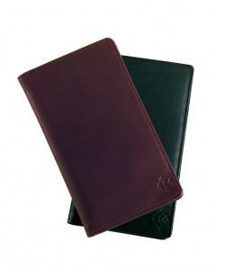 KLUGE Plånbok i skinn med 21 fack - 56 % rabatt