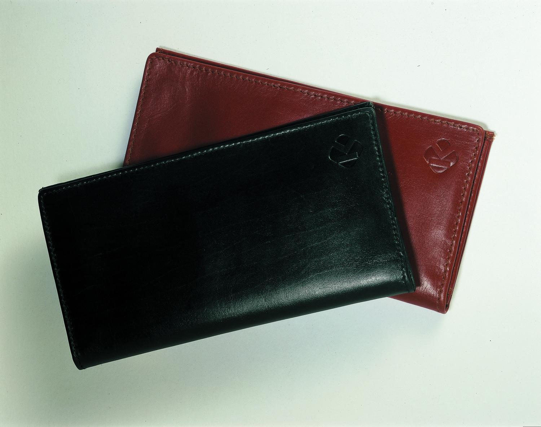 KLUGE Plånbok i skinn med 13 fack - 53 % rabatt