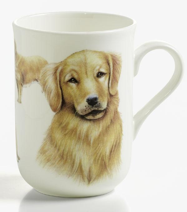 Mugg hund Golden Retriever