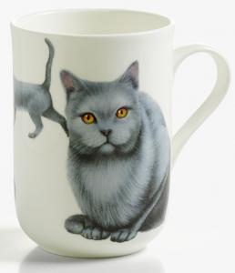 Mugg katt Chartreux