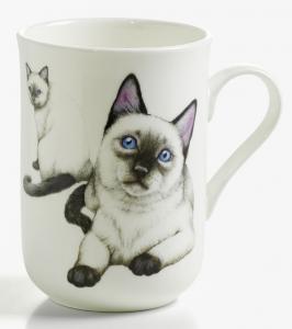 Mugg katt Siames