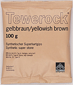 Tewerock yellowish- brown 100g, 12kg/Förp