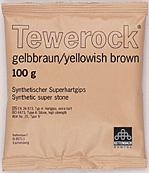 Tewerock yellowish- brown 100g, 12kg/Förp
