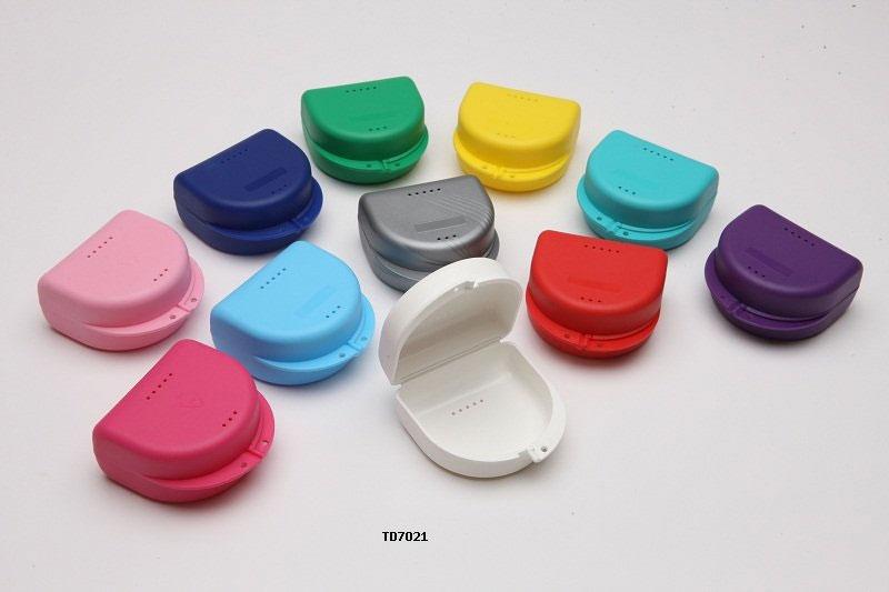 Ortobox plast 65x76x40mm Blandade färger 10 pack