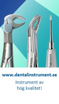 Instrument banner för dentalinstrument av hög kavlitet