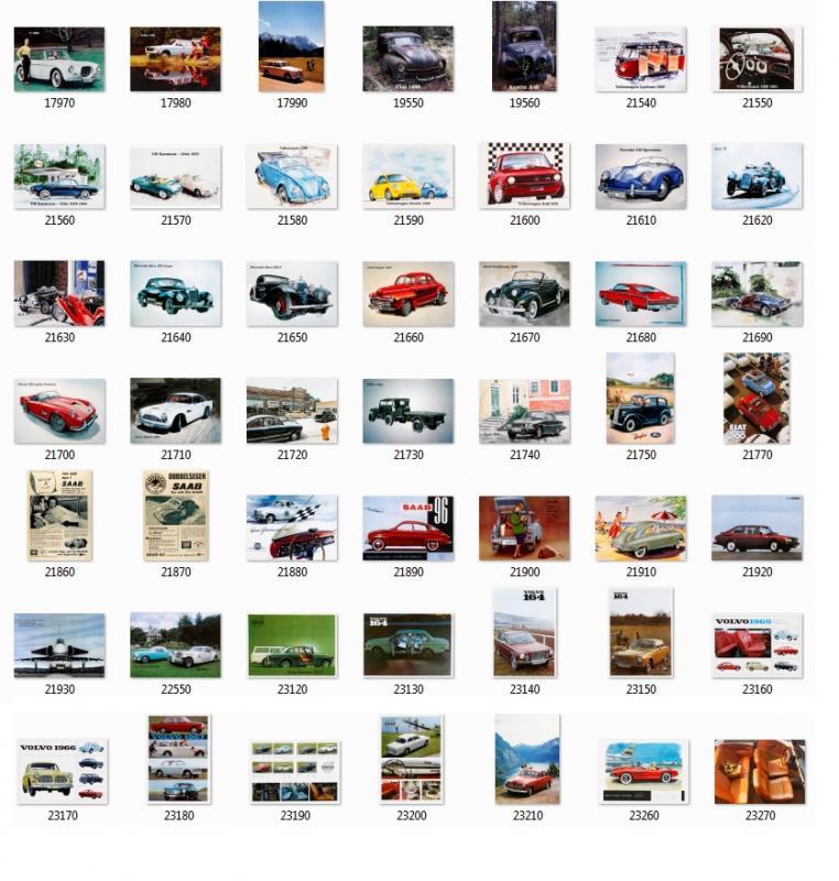 Bild på alla Bilar, klicka på bilden för att förstora