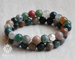 Indian Agate Armband II