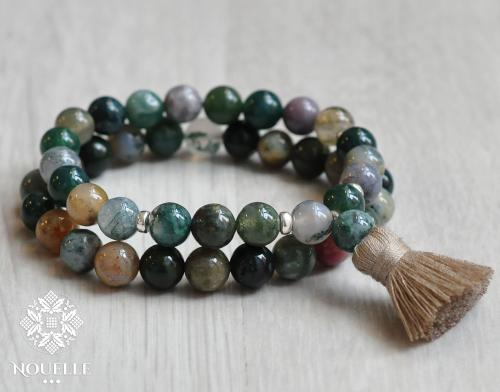 Indian Agate Armband