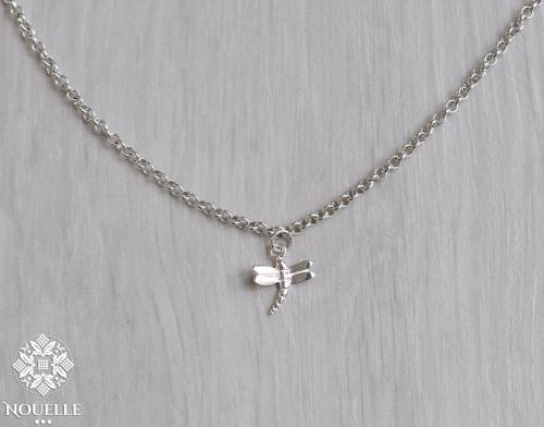 Silver Necklace - Dragonfly