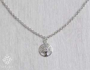 Silver Necklace - Tree Of Life
