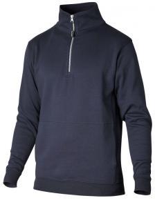 Sweatshirt zip marin