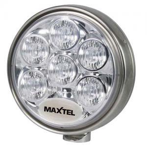 """Maxtel Classic rund 9"""" 12/24V Rostfri"""