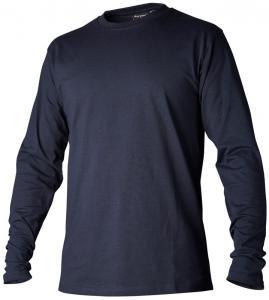T-shirt långärmad marin