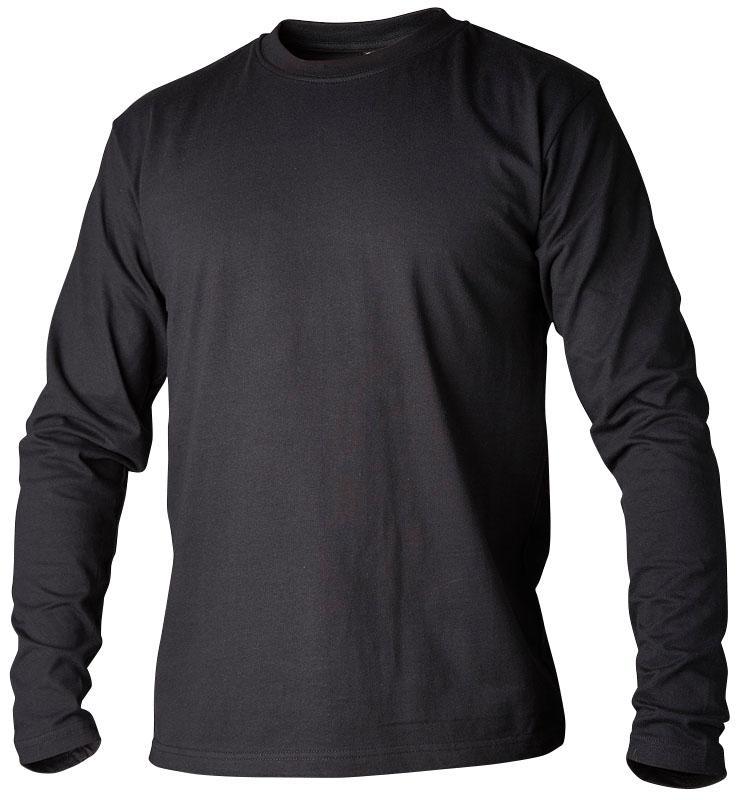 T-shirt långärmad svart