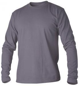 T-shirt långärmad grå