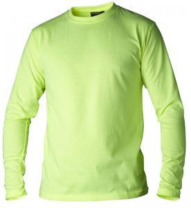 T-shirt långärmad hi vis gul