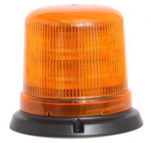 Blixtljus B14 LED orange 21/24V R65 plan yta